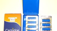 1 box of 10 replacement Cartridges for Blue Stick - No Nicotine